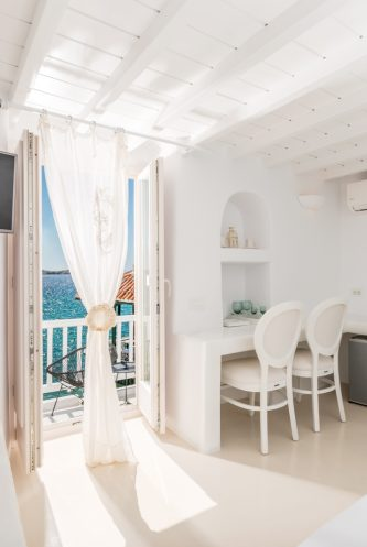 Superior Sea View Suite with Interior Spa Bath